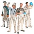 Tűzoltó, ívvédő, aluminizált láng- és hőálló védőruhák